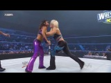 Eve Torres and Beth Phoenix vs. Layla and Maryse (with Michelle McCool) (SmackDown 28.02.11)